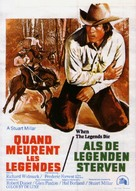 When the Legends Die - Belgian Movie Poster (xs thumbnail)