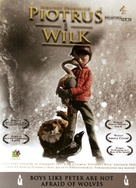 Peter & the Wolf - Polish DVD cover (xs thumbnail)