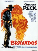 The Bravados - French Movie Poster (xs thumbnail)