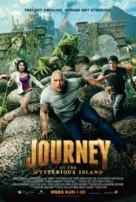 Journey 2: The Mysterious Island - Danish Movie Poster (xs thumbnail)