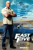 Fast Five - poster (xs thumbnail)