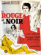 Le rouge et le noir - French Movie Poster (xs thumbnail)