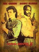 Lethal Weapon 3 - British Movie Cover (xs thumbnail)