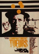 Compartiment tueurs - French Movie Poster (xs thumbnail)