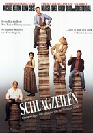 The Paper - German Movie Poster (xs thumbnail)