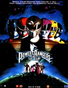 Mighty Morphin Power Rangers: The Movie - French Movie Poster (xs thumbnail)