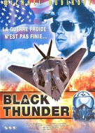 Black Thunder - French DVD cover (xs thumbnail)