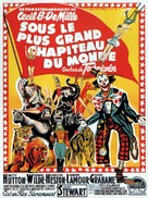 The Greatest Show on Earth - French Movie Poster (xs thumbnail)