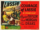 Courage of Lassie - British Movie Poster (xs thumbnail)