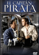 Captain Pirate - Argentinian DVD cover (xs thumbnail)