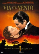 Gone with the Wind - Italian DVD movie cover (xs thumbnail)