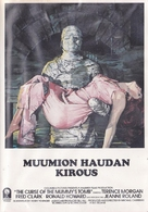 The Curse of the Mummy's Tomb - Finnish VHS movie cover (xs thumbnail)