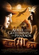 Les aventures extraordinaires d'Adèle Blanc-Sec - German Movie Poster (xs thumbnail)