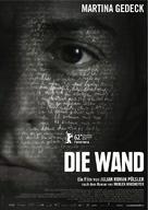 Die Wand - Austrian Movie Poster (xs thumbnail)