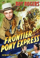Frontier Pony Express - DVD movie cover (xs thumbnail)