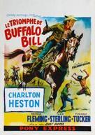 Pony Express - Belgian Movie Poster (xs thumbnail)