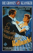 Es war eine rauschende Ballnacht - German Movie Cover (xs thumbnail)