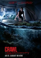 Crawl - German Movie Poster (xs thumbnail)