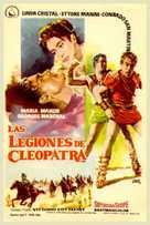 Le legioni di Cleopatra - Spanish Movie Poster (xs thumbnail)