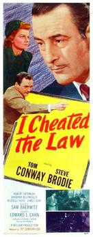 I Cheated the Law - Movie Poster (xs thumbnail)