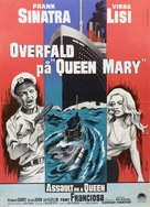Assault on a Queen - Danish Movie Poster (xs thumbnail)