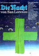 La notte di San Lorenzo - German Movie Poster (xs thumbnail)