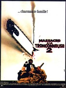 The Texas Chainsaw Massacre 2 - French Movie Poster (xs thumbnail)