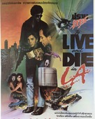 To Live and Die in L.A. - Thai Movie Poster (xs thumbnail)