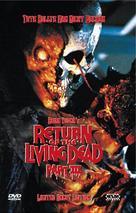 Return of the Living Dead III - Austrian DVD movie cover (xs thumbnail)