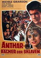 Anthar l'invincibile - German Movie Poster (xs thumbnail)