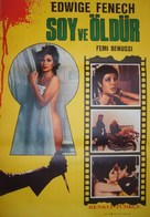 Nude per l'assassino - Turkish Movie Poster (xs thumbnail)