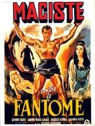 Maciste contro il vampiro - French Movie Poster (xs thumbnail)