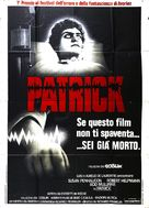 Patrick - Italian Movie Poster (xs thumbnail)