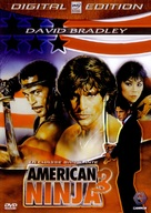 American Ninja 3: Blood Hunt - French DVD cover (xs thumbnail)