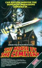 Quella villa accanto al cimitero - British VHS movie cover (xs thumbnail)