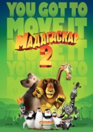 Madagascar: Escape 2 Africa - Russian Movie Poster (xs thumbnail)