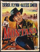 Montana - Belgian Theatrical poster (xs thumbnail)