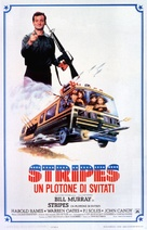 Stripes - Italian Theatrical poster (xs thumbnail)