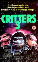 Critters 3 - British VHS movie cover (xs thumbnail)