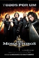 The Three Musketeers - Portuguese Movie Poster (xs thumbnail)