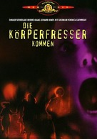 Invasion of the Body Snatchers - German DVD cover (xs thumbnail)