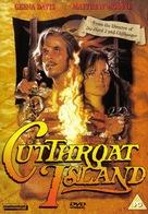 Cutthroat Island - British DVD movie cover (xs thumbnail)