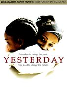 Yesterday - DVD cover (xs thumbnail)