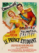 The Student Prince - French Movie Poster (xs thumbnail)