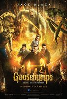 Goosebumps - Malaysian Movie Poster (xs thumbnail)