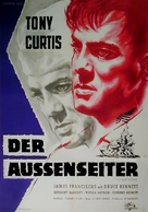 The Outsider - German Movie Poster (xs thumbnail)
