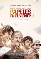 Papeles en el viento - Argentinian Movie Poster (xs thumbnail)