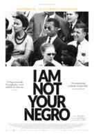 I Am Not Your Negro - Norwegian Movie Poster (xs thumbnail)