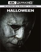 Halloween - British Blu-Ray movie cover (xs thumbnail)