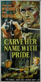 Carve Her Name with Pride - British Movie Poster (xs thumbnail)